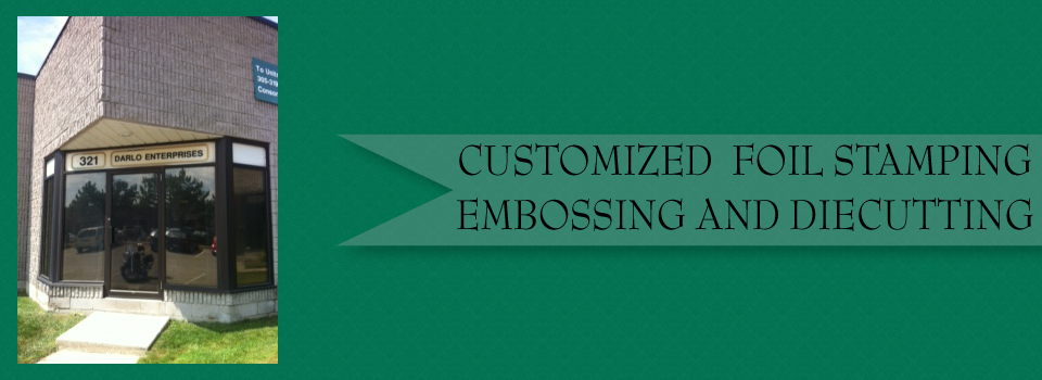 Customized Foil Stamping, Embossing, and Diecutting | Store front